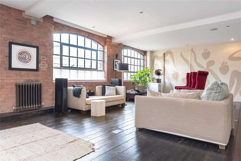 2 Bedrooms Unique Property for rent in The Factory, 1 Nile Street, Shoreditch, London, N1