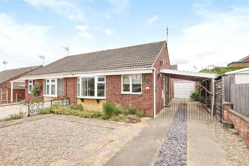 2 Bedrooms Semi Detached Bungalow for sale in Harrowby Lane, Grantham, NG31