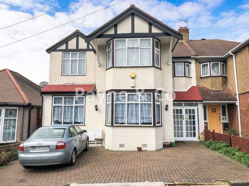 5 Bedrooms Semi Detached House for sale in Merrivale Avenue, REDBRIDGE, IG4