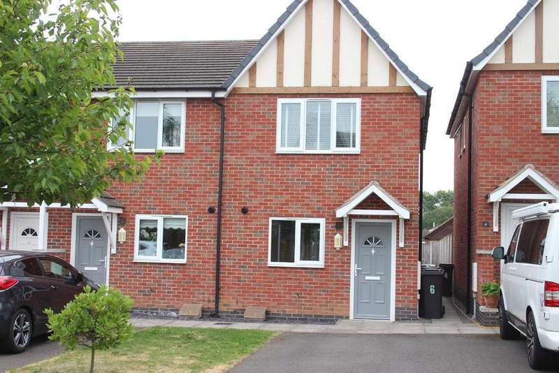 2 Bedrooms Town House for sale in Queens Close, Earl Shilton, Leicester