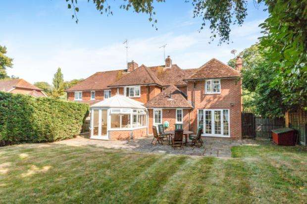 4 Bedrooms Semi Detached House for sale in South Warnborough, Hook, Hampshire