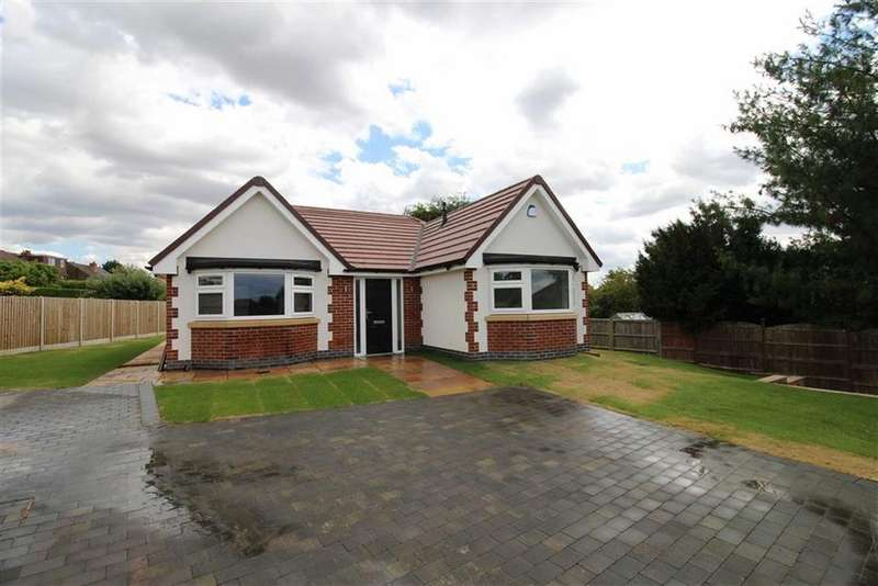 3 Bedrooms Detached Bungalow for sale in Hillside Avenue, Chaddesden, Derby