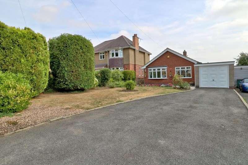 2 Bedrooms Detached Bungalow for sale in School Lane, Newbold Coleorton