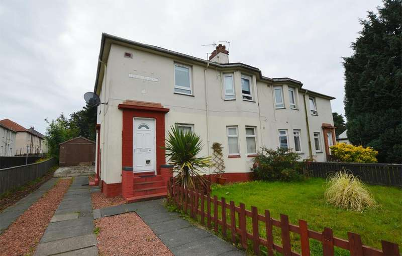 2 Bedrooms Ground Flat for sale in 68 Fergushill Road, KILWINNING, KA13 7LU