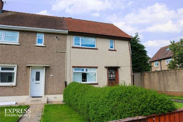 2 Bedrooms End Of Terrace House for sale in Mckinlay Crescent, Irvine, North Ayrshire