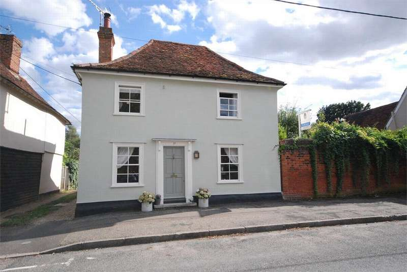 4 Bedrooms Detached House for sale in West Street, Coggeshall, Essex