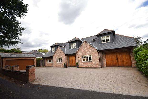 3 Bedrooms Detached House for sale in Elliott Drive, Leicester Forest East, Leicester, LE3