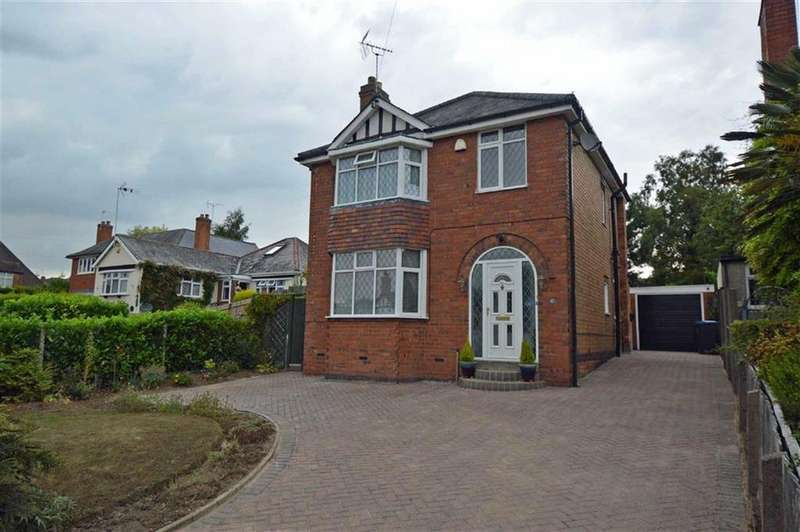 3 Bedrooms Detached House for sale in Station Road, Ratby