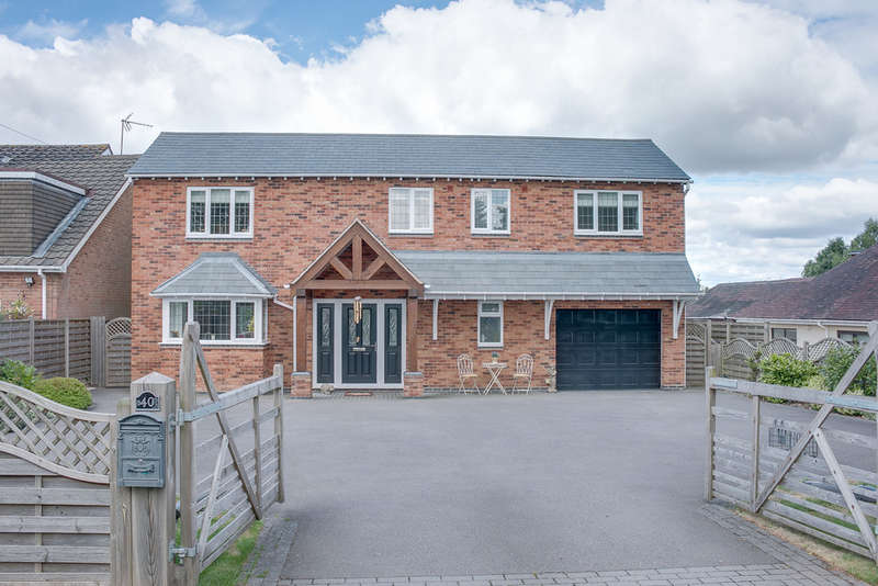 4 Bedrooms Detached House for sale in Crumpfields Lane, Webheath, Redditch, B97 5PN