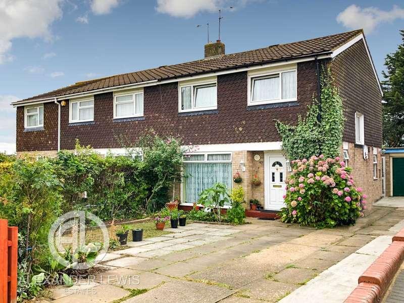 4 Bedrooms Semi Detached House for sale in Brandles Road, Letchworth Garden City, SG6 2JB
