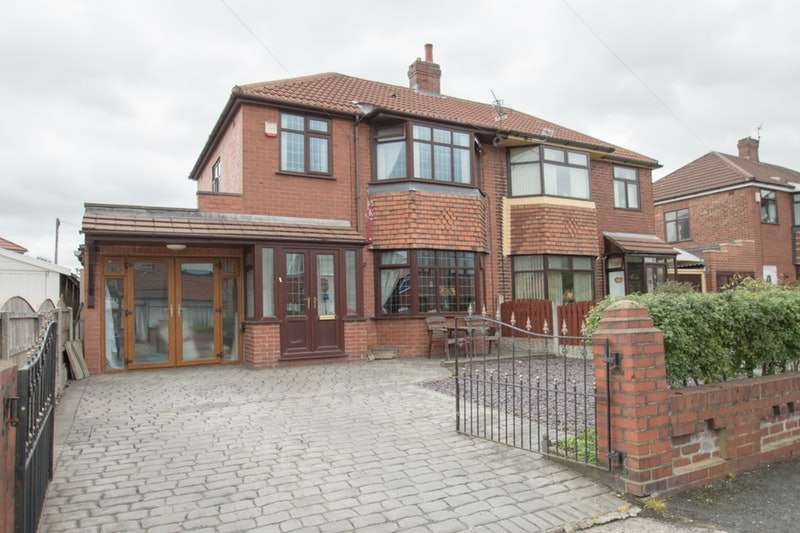 3 Bedrooms Semi Detached House for sale in Nina Drive, Manchester, Greater Manchester, M40