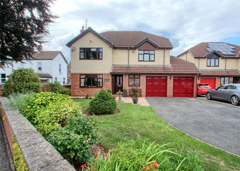 4 Bedrooms Detached House for sale in Hamilton Court, Thorpe Thewles