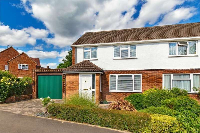 3 Bedrooms Semi Detached House for sale in Ashbrook Road, Old Windsor, Berkshire