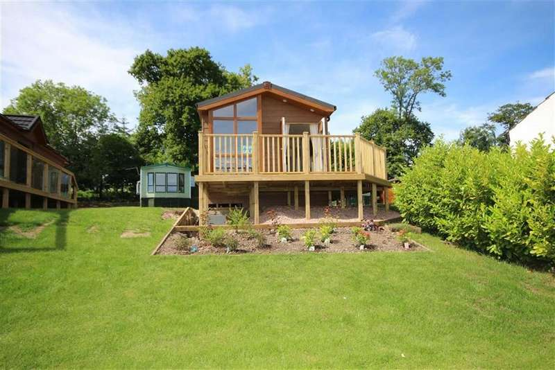 2 Bedrooms Chalet House for sale in 33, Letham Feus Park, By Leven, Fife, KY8