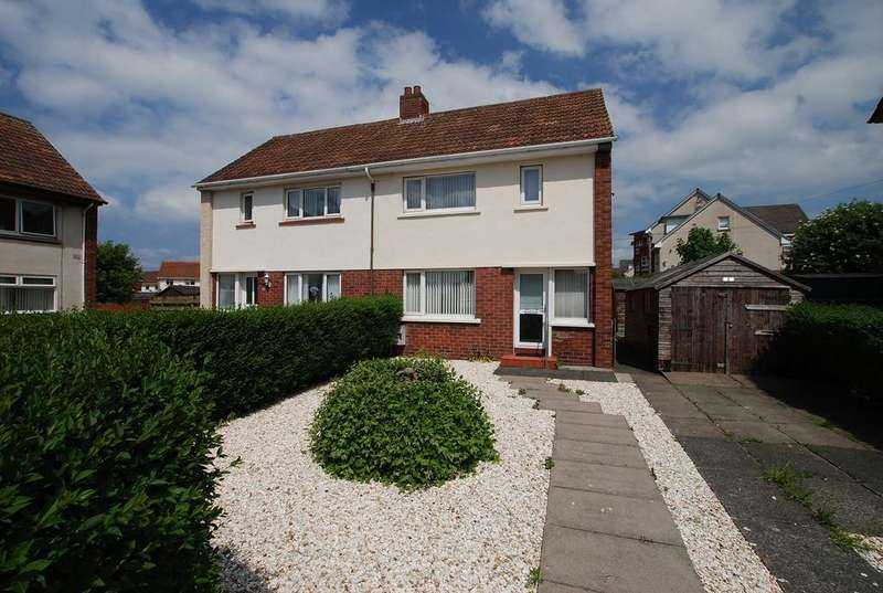 2 Bedrooms Semi Detached House for sale in 10 Callendar Place, AYR, KA8 9EL