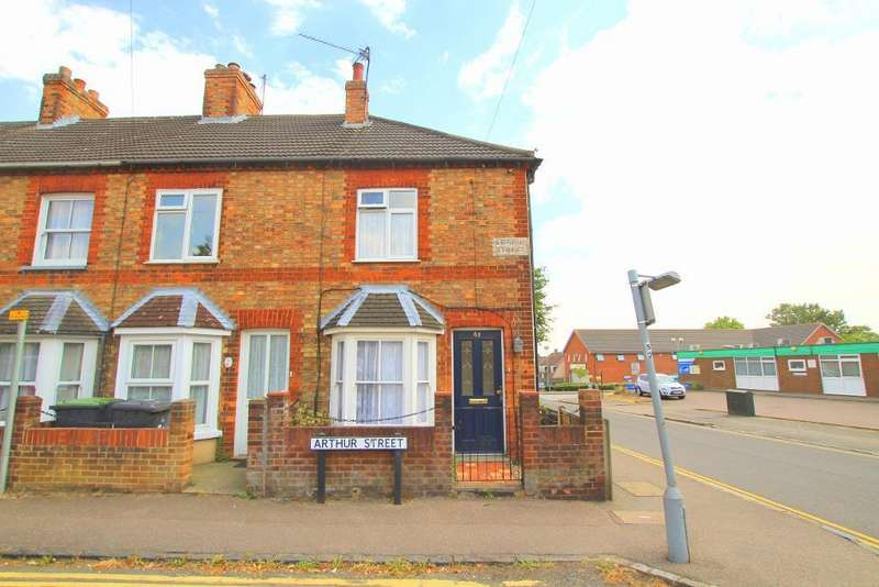 2 Bedrooms End Of Terrace House for sale in Arthur Street, Ampthill, Beds, MK45 2QQ