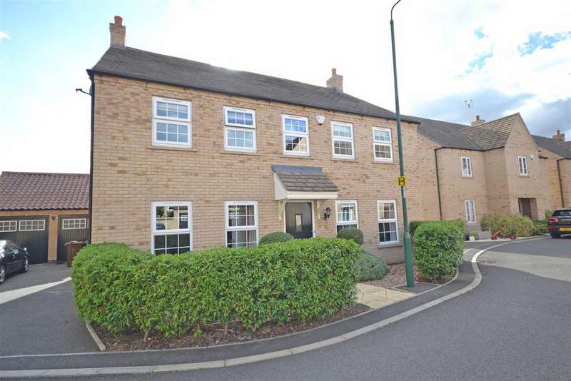 4 Bedrooms Detached House for sale in Paynes Field, Barnack, Stamford