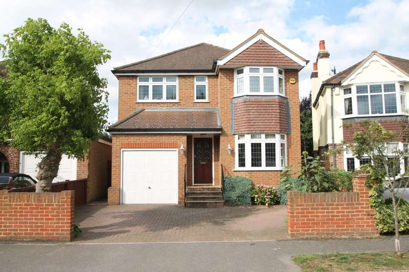 4 Bedrooms Detached House for sale in Ashview Gardens, Ashford, TW15