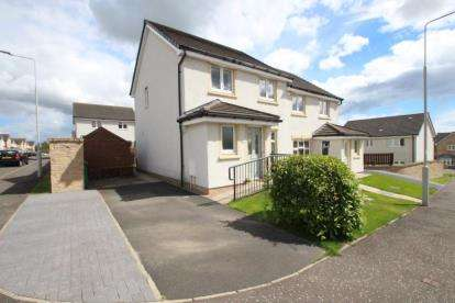 3 Bedrooms Semi Detached House for sale in Lochty Court, Kinglassie