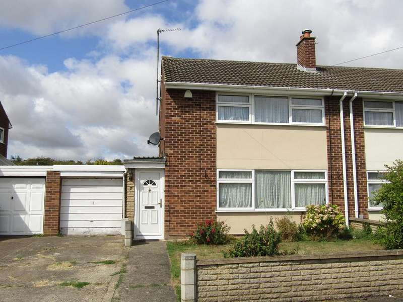 3 Bedrooms Semi Detached House for sale in Primrose Close, Arlesey, SG15 6RE