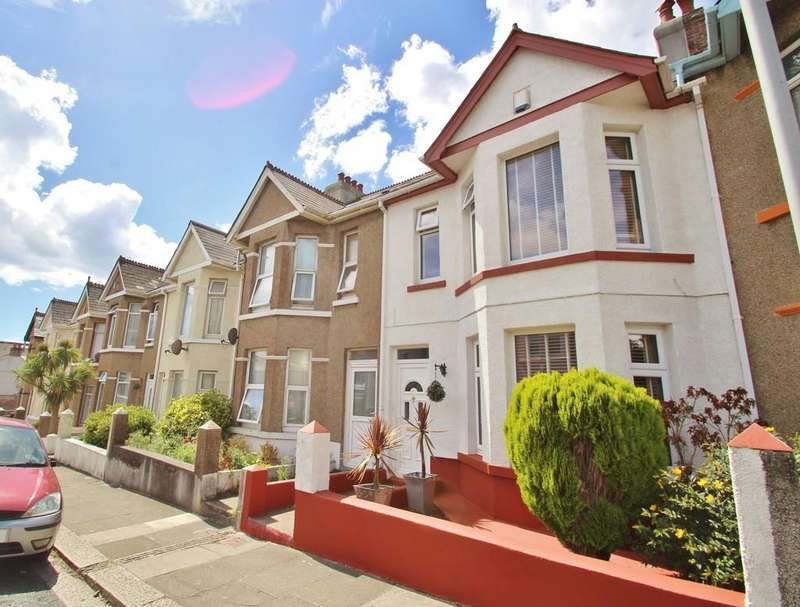 3 Bedrooms Terraced House for sale in Stroud Park Road, Plymouth, Devon