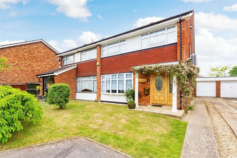3 Bedrooms Semi Detached House for sale in Glaisyer Way, Iver Heath, Buckinghamshire