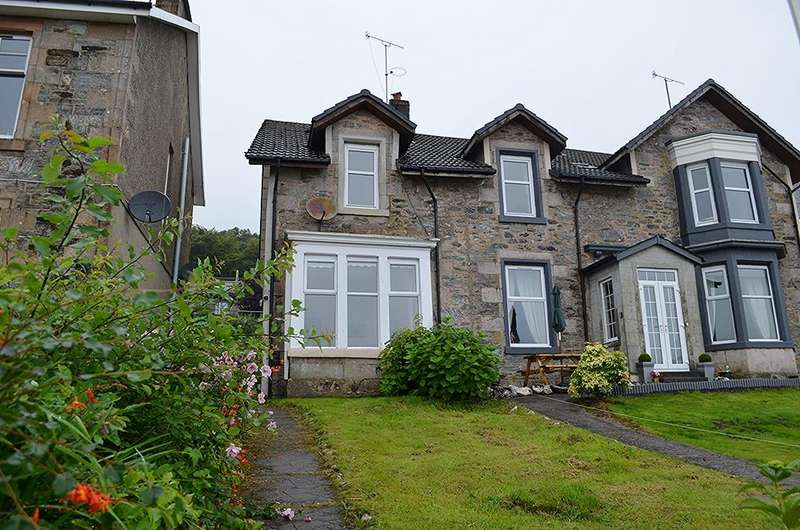 2 Bedrooms Semi Detached House for sale in Shore Road, Tighnabruaich, Argyll and Bute, PA21 2DX