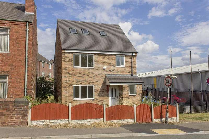 4 Bedrooms Detached House for sale in Market Street, Clay Cross, Chesterfield