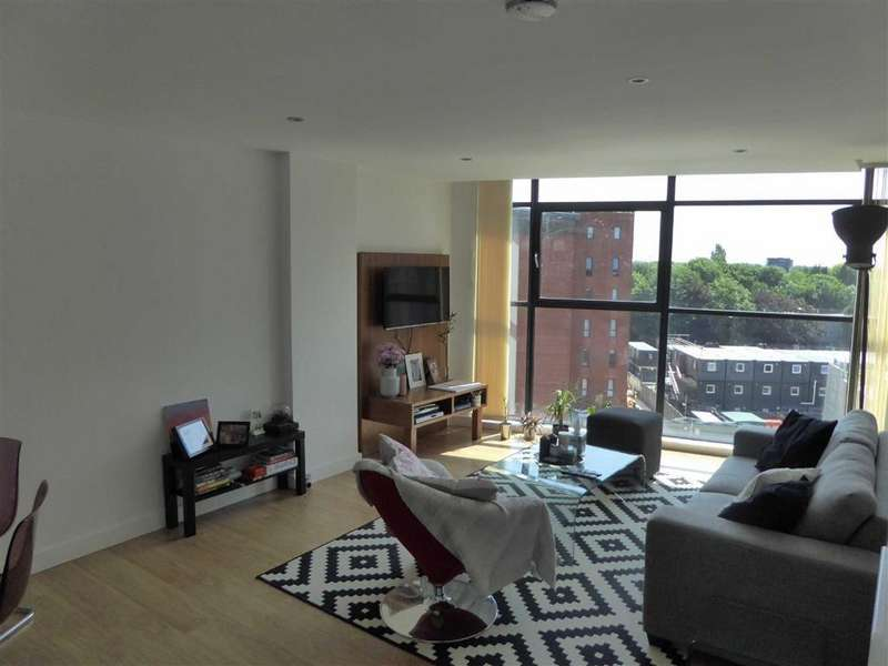 2 Bedrooms Flat for sale in Hill Quays, Block B, Manchester