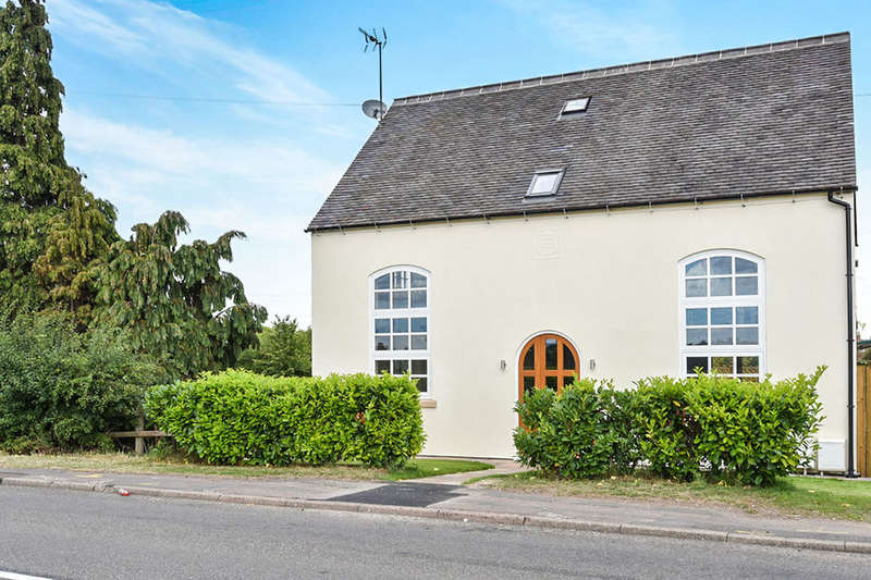 3 Bedrooms Detached House for sale in The Chapel At The Old School House Uttoxeter Road, Foston, Derby, DE65