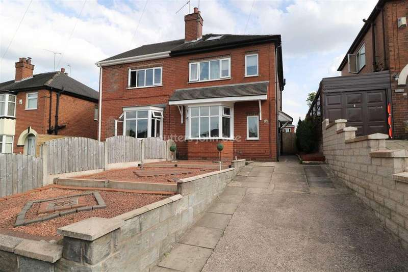 4 Bedrooms Semi Detached House for sale in Leek New Road, Sneyd Green
