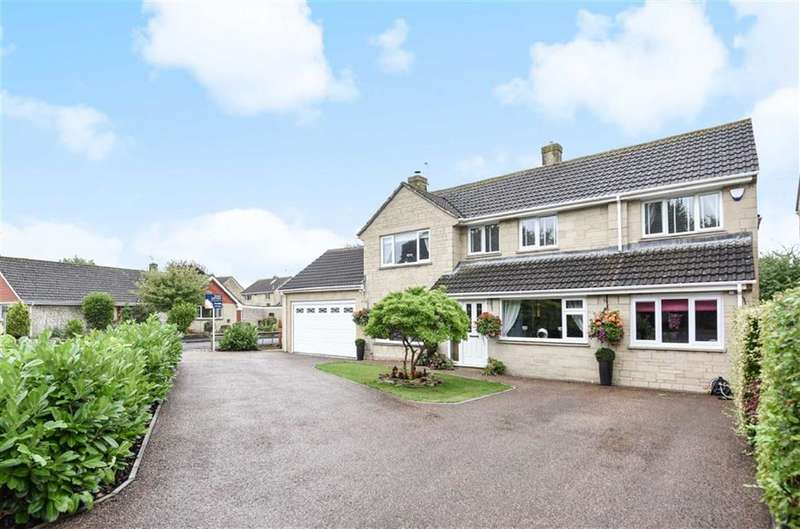 4 Bedrooms Detached House for sale in Sams Lane, Blunsdon, Wiltshire