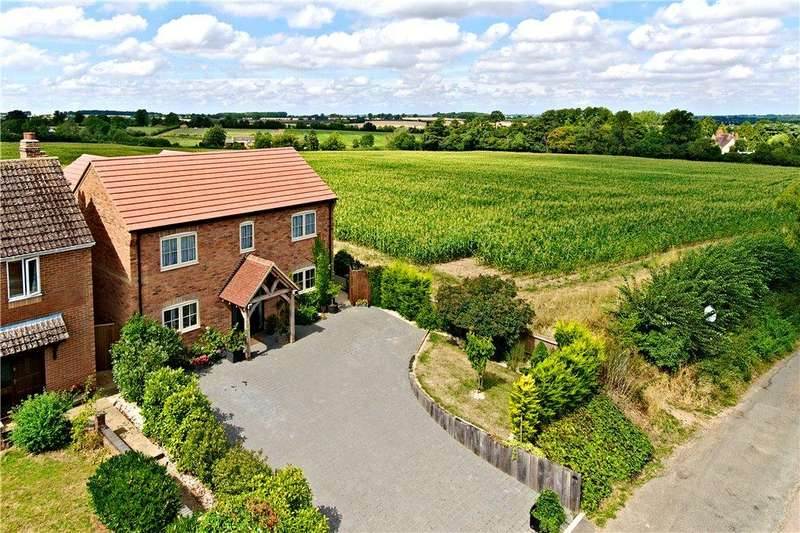 4 Bedrooms Detached House for sale in Longcroft Lane, Paulerspury, Towcester, Northamptonshire