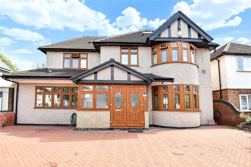 5 Bedrooms Detached House for sale in Elm Avenue, Ruislip, Middlesex, HA4