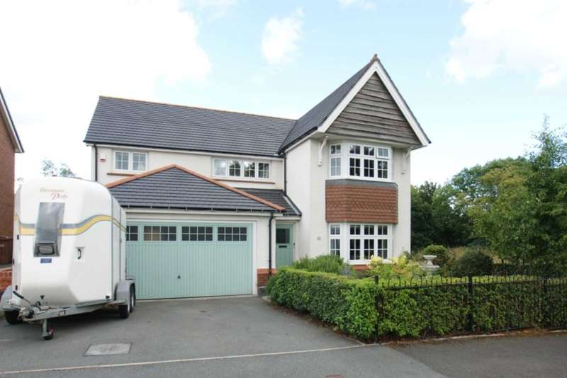 4 Bedrooms Detached House for sale in Fox Field, Northop, Mold, Flintshire, CH7 6GQ.