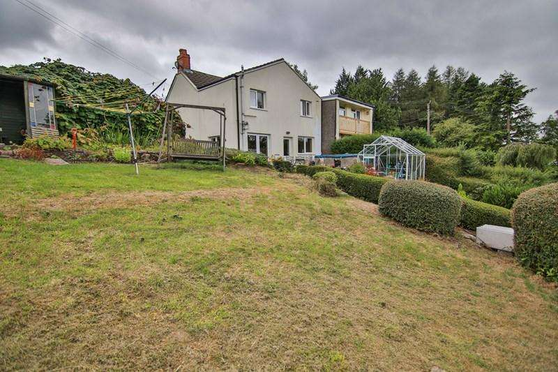 3 Bedrooms Semi Detached House for sale in Darenfelen, Llanelly Hill, Abergavenny