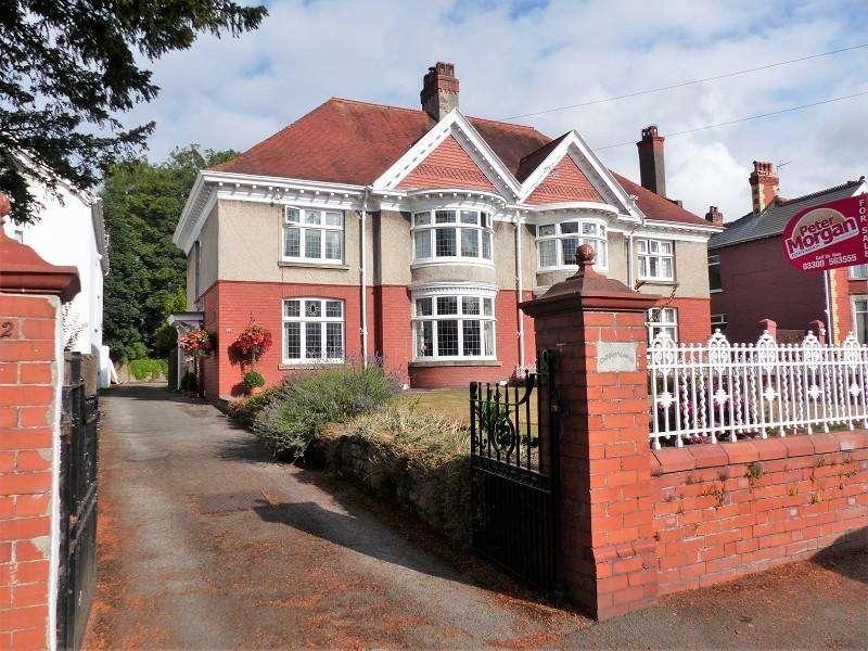 4 Bedrooms Semi Detached House for sale in Merthyr Mawr Road, Bridgend, Bridgend, Mid Glamorgan. CF31 3NR