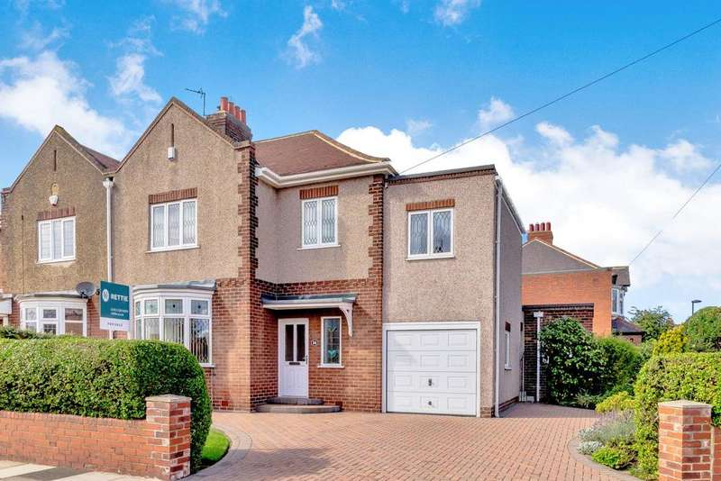 4 Bedrooms Semi Detached House for sale in The Drive, Benton, Newcastle upon Tyne, Tyne Wear