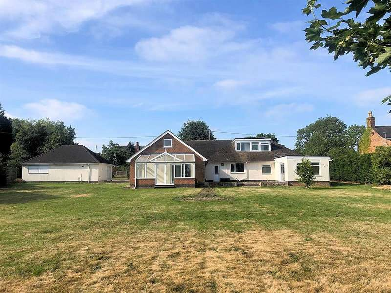6 Bedrooms Detached Bungalow for sale in Leicester Lane, Desford, Leicester