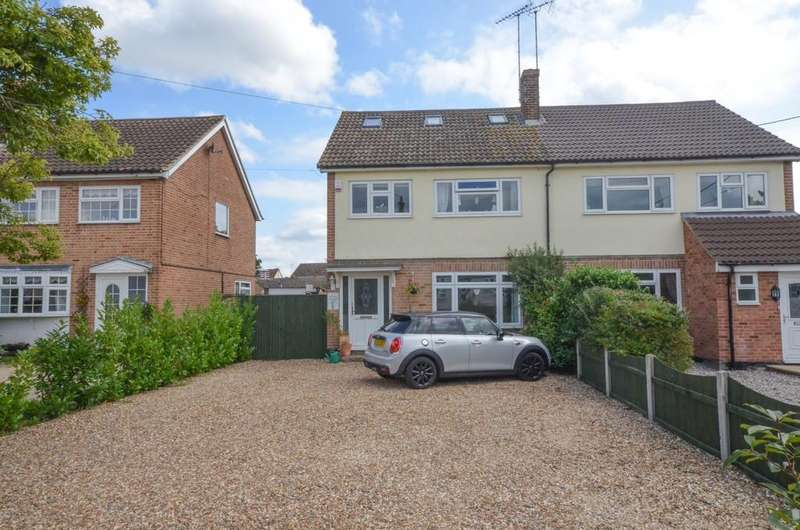 4 Bedrooms Semi Detached House for sale in Maldon Road, Witham