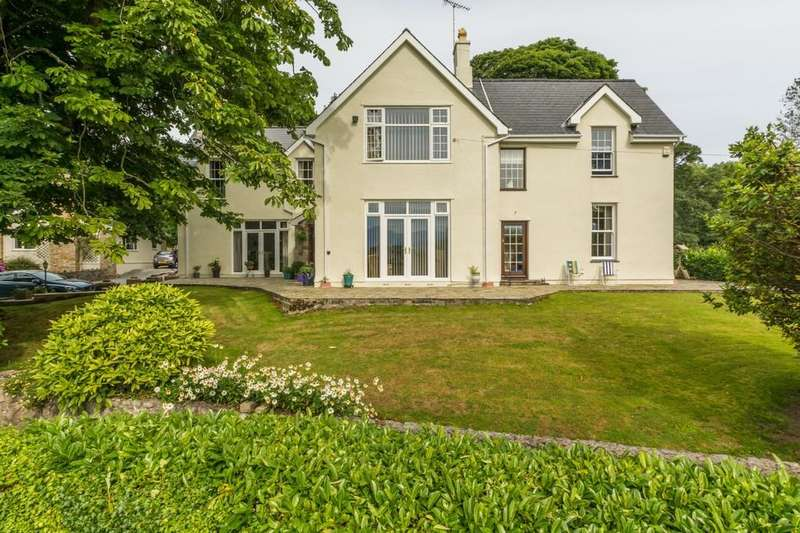 5 Bedrooms Detached House for sale in Llandegfan, Menai Bridge, North Wales