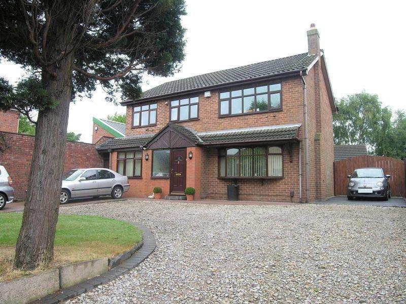 4 Bedrooms Detached House for sale in Lichfield Road, Shelfield