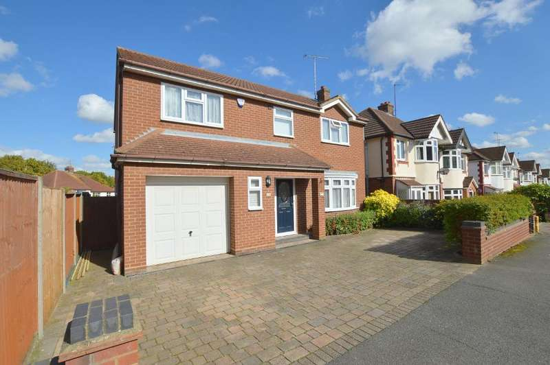 4 Bedrooms Detached House for sale in Walcot Avenue, Round Green, Luton, LU2 0PW