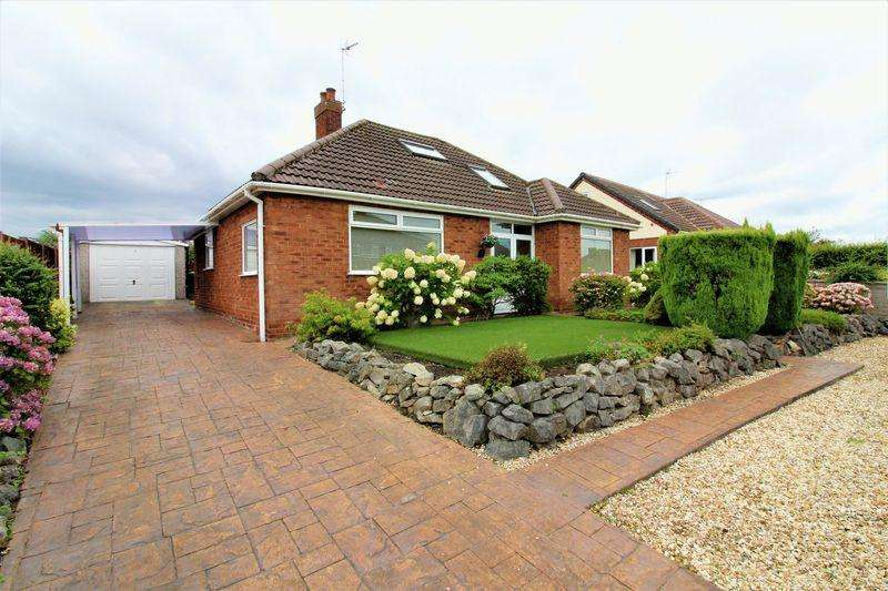 3 Bedrooms Detached Bungalow for sale in Manor Drive, Great Boughton, Chester