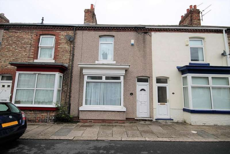 2 Bedrooms Terraced House for sale in Falkirk Street, Thornaby, Stockton-On-Tees
