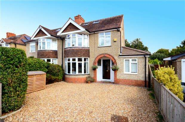 4 Bedrooms Semi Detached House for sale in Geoffreyson Road, Caversham, Reading