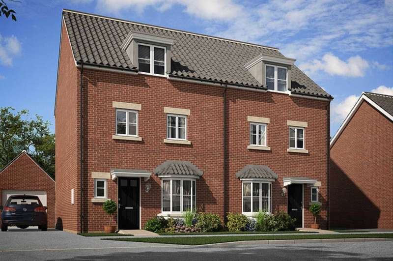4 Bedrooms End Of Terrace House for sale in Amen Green, Binfield