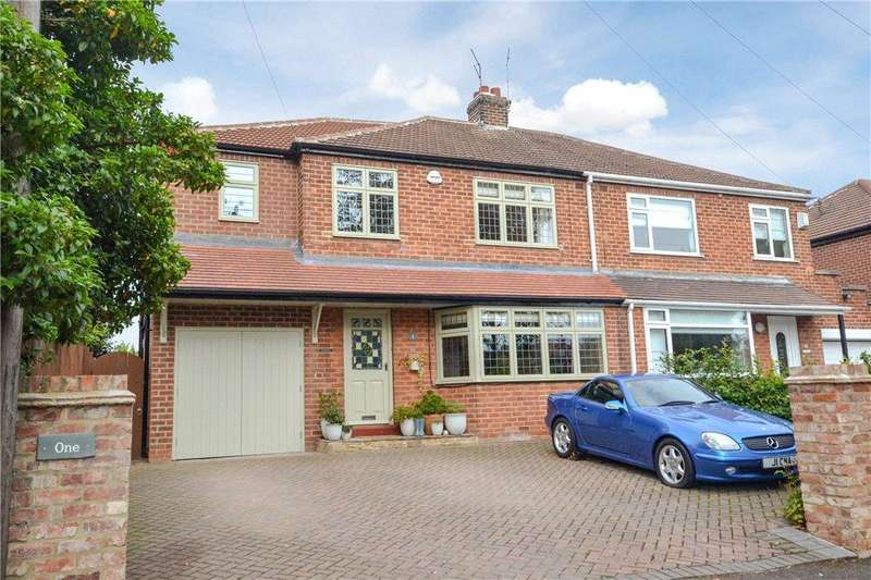 3 Bedrooms Semi Detached House for sale in Tees Bank Avenue, Eaglescliffe, Stockton-on-Tees