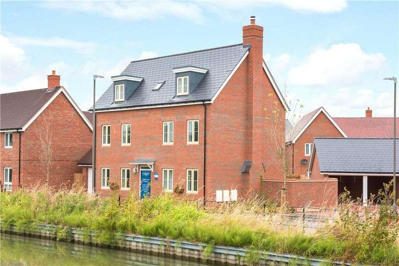 5 Bedrooms Detached House for sale in Plot No. 024, Canalside View, Off Stocklake, Aylesbury