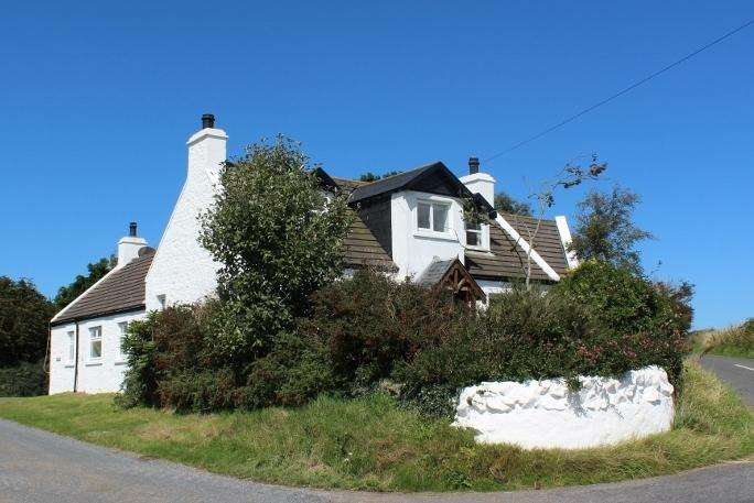 3 Bedrooms Country House Character Property for sale in Knockoudie, Kirkcolm, DG9 0PA
